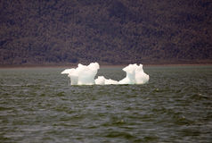 Παγόβουνο στη λιμνοθάλασσα SAN Rafael, Παταγωνία, Χιλή Στοκ Φωτογραφίες