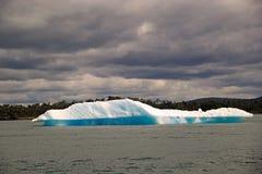 Παγόβουνο στη λιμνοθάλασσα SAN Rafael, Παταγωνία, Χιλή Στοκ Εικόνες