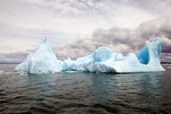 Παγόβουνο στη λιμνοθάλασσα SAN Rafael, Παταγωνία, Χιλή Στοκ Εικόνα