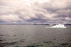 Παγόβουνο στη λιμνοθάλασσα SAN Rafael, Παταγωνία, Χιλή Στοκ φωτογραφίες με δικαίωμα ελεύθερης χρήσης