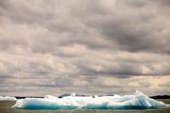 Παγόβουνο στη λιμνοθάλασσα SAN Rafael, Παταγωνία, Χιλή Στοκ Φωτογραφία