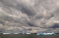 Παγόβουνο στη λιμνοθάλασσα SAN Rafael, Παταγωνία, Χιλή Στοκ εικόνα με δικαίωμα ελεύθερης χρήσης