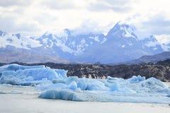 Παγόβουνο στον παγετώνα Upsala, Παταγωνία Αργεντινή Στοκ Εικόνες