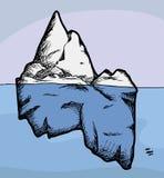 παγόβουνο απεικόνιση αποθεμάτων