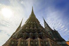 Παγόδα σε Wat Po, ναός Wat Po Στοκ εικόνα με δικαίωμα ελεύθερης χρήσης