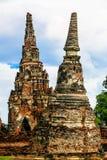 Παγόδα στον ταϊλανδικό ναό στοκ εικόνα με δικαίωμα ελεύθερης χρήσης