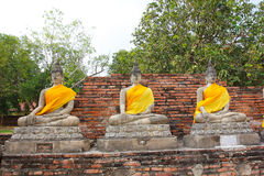 παγόδα του Βούδα ayutthaya Στοκ φωτογραφίες με δικαίωμα ελεύθερης χρήσης