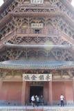 Παγόδα Sakyamuni του ναού Fogong, Shanxi, Κίνα στοκ εικόνες