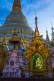 Παγόδα Shwedagon σε Yangon, το Μιανμάρ Στοκ φωτογραφία με δικαίωμα ελεύθερης χρήσης