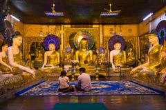 Παγόδα Shwedagon σε Yangon, το Μιανμάρ Στοκ φωτογραφίες με δικαίωμα ελεύθερης χρήσης