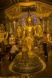 Παγόδα Shwedagon σε Yangon, το Μιανμάρ Στοκ Φωτογραφίες