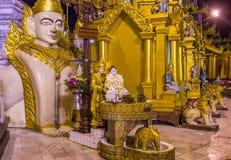 Παγόδα Shwedagon σε Yangon, το Μιανμάρ Στοκ Φωτογραφία