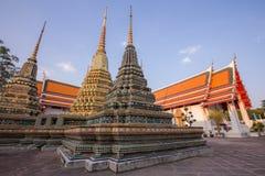 Παγόδας στο ναό Wat Po Στοκ εικόνα με δικαίωμα ελεύθερης χρήσης