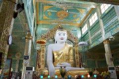 Παγόδα αντικνημίων Oo Pone Nya Sone, το Μιανμάρ στοκ φωτογραφία με δικαίωμα ελεύθερης χρήσης