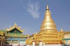 Παγόδα αντικνημίων Oo Pone Nya Sone, το Μιανμάρ στοκ εικόνες με δικαίωμα ελεύθερης χρήσης