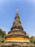Παγόδα σε Wat Umong Chiang Mai, βόρεια Ταϊλάνδη Στοκ Εικόνες