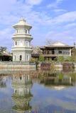 Παγόδα στον κινεζικό κλασσικό κήπο Στοκ Εικόνες