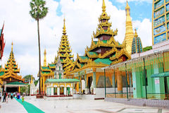 παγόδα της Myanmar shwedagon yangon Στοκ εικόνες με δικαίωμα ελεύθερης χρήσης