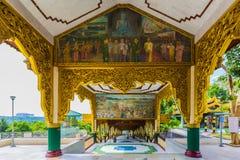Παγόδα του Βούδα Kyauktawgyi στοκ εικόνα