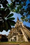 Παγόδα του Si Sanphet Wat Phra Στοκ εικόνα με δικαίωμα ελεύθερης χρήσης