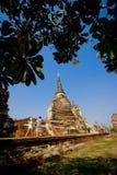 Παγόδα του Si Sanphet Wat Phra Στοκ εικόνες με δικαίωμα ελεύθερης χρήσης