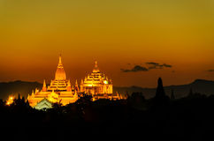Παγόδα Bagan Στοκ Εικόνα