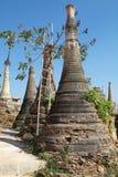Παγόδα Dain πανδοχείων Shwe σύνθετη Στοκ Εικόνες
