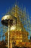 Παγόδα Doi Suthep επισκευής Στοκ φωτογραφία με δικαίωμα ελεύθερης χρήσης