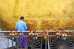Παγόδα Kyaiktiyo ή χρυσός βράχος, το Μιανμάρ Στοκ Φωτογραφίες