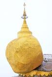 Παγόδα Kyaiktiyo ή χρυσός βράχος, το Μιανμάρ Στοκ φωτογραφία με δικαίωμα ελεύθερης χρήσης