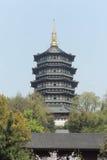 Παγόδα Leifeng, Hangzhou Στοκ Φωτογραφία