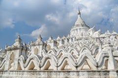 Παγόδα Myatheindan Hsinbyume σε Mingun, το Μιανμάρ στοκ φωτογραφία με δικαίωμα ελεύθερης χρήσης