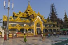 Παγόδα Shwedagon σε Yangon Στοκ φωτογραφίες με δικαίωμα ελεύθερης χρήσης