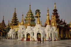 Παγόδα Shwedagon σε Yangon Στοκ εικόνα με δικαίωμα ελεύθερης χρήσης