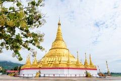 Παγόδα Shwedagon Tachileik Στοκ Εικόνες