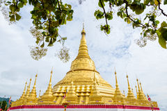 Παγόδα Shwedagon Tachileik Στοκ φωτογραφία με δικαίωμα ελεύθερης χρήσης