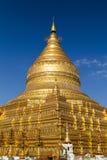 Παγόδα Shwezigon, Bagan, το Μιανμάρ (Βιρμανία) Στοκ Εικόνες