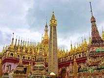 Παγόδα Thanboddhay Στοκ Φωτογραφία