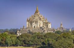 Παγόδα Thatbyinyu, Bagan, το Μιανμάρ Στοκ εικόνα με δικαίωμα ελεύθερης χρήσης