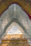 Παγόδα Uthodaw - το μεγαλύτερο βιβλίο του κόσμου Στοκ Φωτογραφία