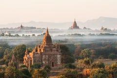 Παγόδες Bagan Στοκ Φωτογραφίες