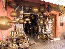 Παζάρι στο Μαρακές Medina Στοκ εικόνα με δικαίωμα ελεύθερης χρήσης