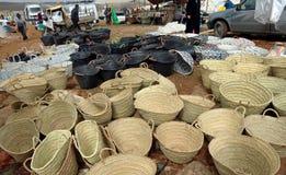 Παζάρι Τρίτης σε Azrou, Μαρόκο στοκ φωτογραφίες