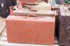 Παζαριών Πώληση των παλαιών πραγμάτων στοκ φωτογραφία με δικαίωμα ελεύθερης χρήσης