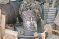 Παζαριών Πώληση των παλαιών πραγμάτων στοκ φωτογραφία