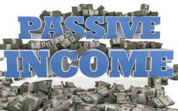 Παθητικό εισόδημα - μάρκετινγκ και πωλήσεις Διαδικτύου διανυσματική απεικόνιση