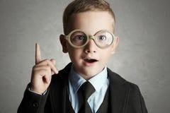 παιδί αστείο Σχολική εκπαίδευση Στοκ Φωτογραφία