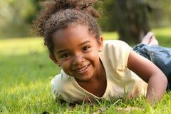 παιδί αφροαμερικάνων στοκ εικόνα με δικαίωμα ελεύθερης χρήσης