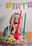 παιδί γενεθλίων Στοκ Φωτογραφία