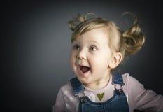 παιδί ευτυχές λίγα Στοκ Φωτογραφία